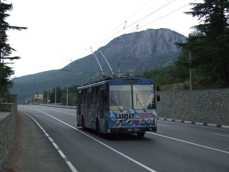 линия Симферополь - Алушта